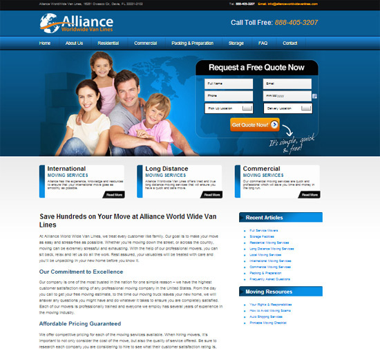 Alliance Worldwide Van Lines