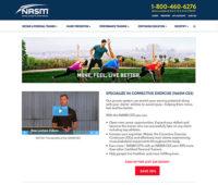 NASM Landing Page
